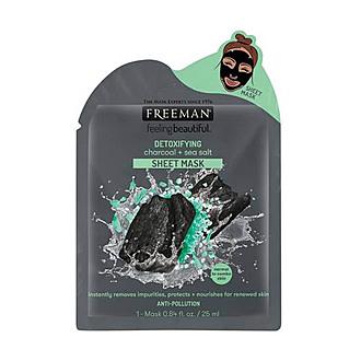 Freeman Beauty - Mascarilla Facial Detoxifying Charcoal + Sea Salt 25 ml