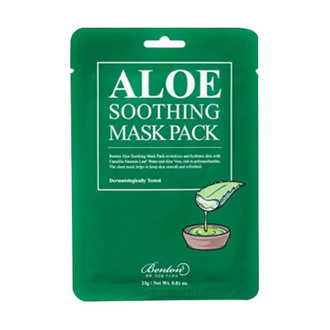 From Soko to Tokyo - Benton Aloe Soothing Mask Pack