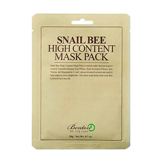 From Soko to Tokyo - Benton Snail Bee High Content Mask