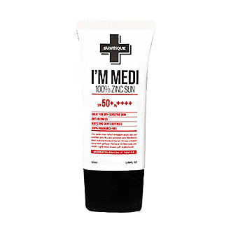 From Soko to Tokyo - Suntique I'm Medi 100% Zinc Sun SPF 50 PA+++