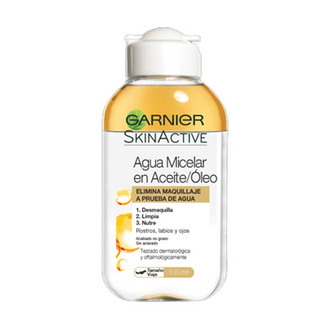 Garnier - Agua Micelar Desmaquillanteen Aceite 100ml - SkinActive