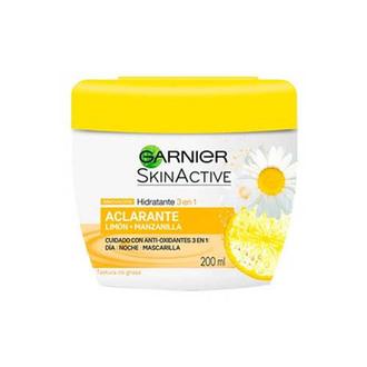 Garnier - Cremas Hidratantes 3 En 1 Aclarante 200 Ml