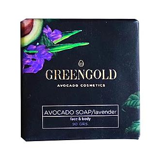 Greengold - Jabón en barra con lavanda