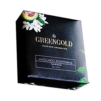 Greengold - Jabón en barra con neroli