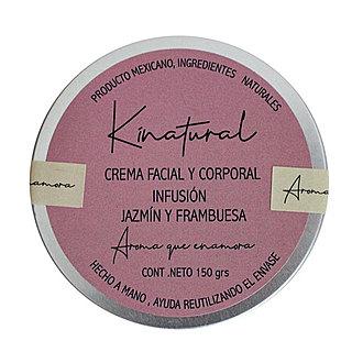 Kinatural - Crema Facial y Corporal Infusión Jazmín y Frambuesa