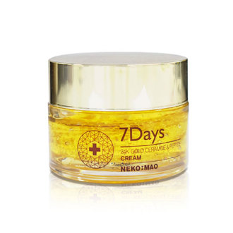 Krona Beauty - Crema Hidratante 7 Days 24k Gold Ceramide & Peptide