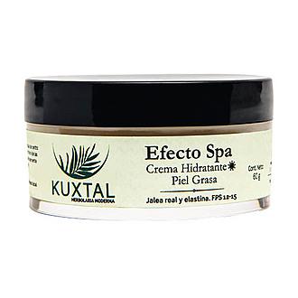 Kuxtal - Efecto SPA Crema Hidratante de Día Piel Grasa