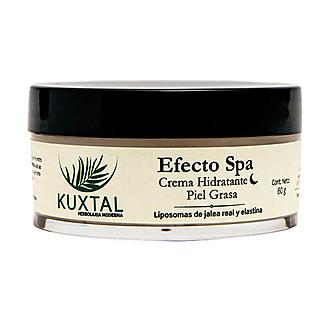 Kuxtal - Efecto SPA Crema Hidratante de Noche Piel Grasa