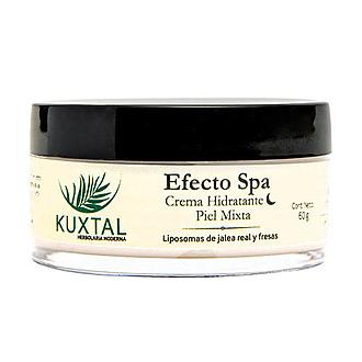 Kuxtal - Efecto SPA Crema Hidratante de Noche Piel Mixta