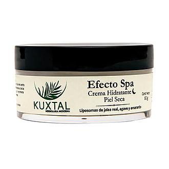 Kuxtal - Efecto SPA Crema Hidratante de Noche Piel Seca