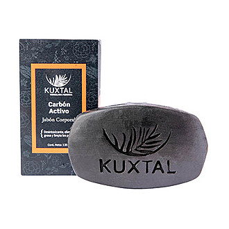 Kuxtal - Jabón Corporal Carbón Activo
