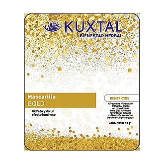 Kuxtal -  Mascarilla Gold