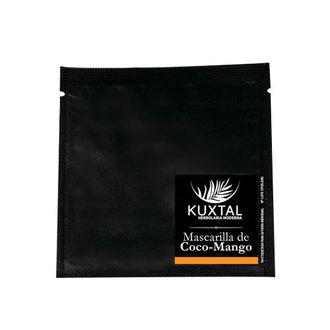 Kuxtal - Mascarilla Natural de Coco y Mango