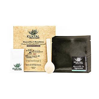 Kuxtal - Mascarillas 4 Beneficios Fruta Liofilizada 100% Natural Preparación Caliente