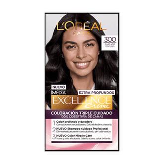 L'Oréal Paris - Extra Profundos Tinte Permanente 300 Castaño Oscuro