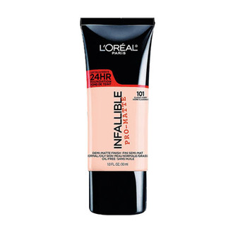 L'Oréal Paris - Infallible - 24H Pro Matte Base de Maquillaje 101 Classic Ivory