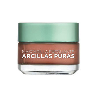 L'Oréal Paris - Mascarilla Exfoliante, Arcillas Puras, 40 ml