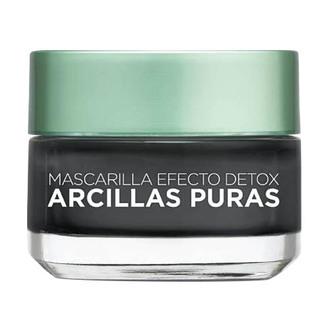 L'Oréal Paris - Mascarilla Facial Limpiadora Negra