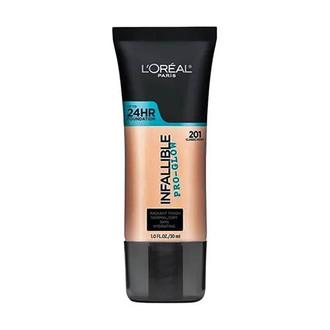 L'Oréal Paris - Pro Glow Base de maquillaje 201 Classic Ivory