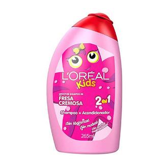 L'Oréal Paris - Shampoo 2 en 1 Fresa