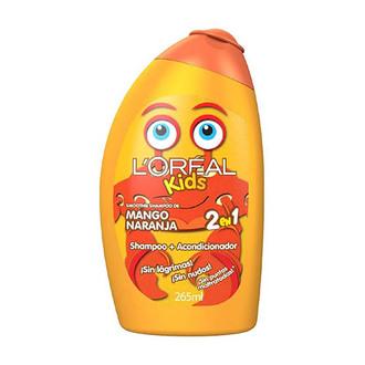 L'Oréal Paris - Shampoo 2 en 1 Mango - Naranja