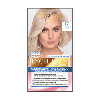 L'Oréal Paris - Ultra Aclarantes Tinte permanente 121 Extra Claro Cenizo