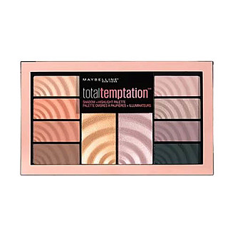 Maybelline New York - Total Temptation Eyeshadow + Highlight Palette