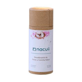 Nacuii - Desodorante de Rosas y Concha Nacar (Biodegradable)