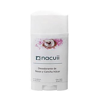Nacuii - Desodorante de Rosas y Concha Nacar