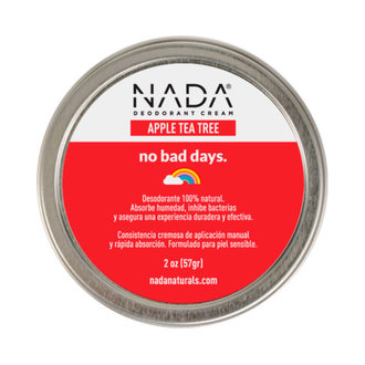 Nada Naturals - Desodorante Apple Tea Tree