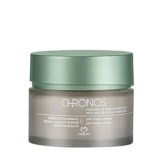 Natura - Chronos - Máscara de arcilla purificante
