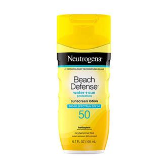 Neutrogena - Beach Defense® Water + Sun Protection Sunscreen Lotion Broad Spectrum SPF 50