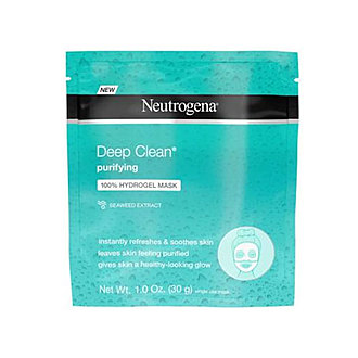 Neutrogena - Deep Clean Purifying 100% Hydrogel Face Mask