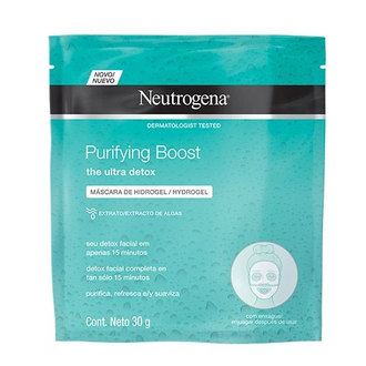 Neutrogena - Mascarilla Hydrogel Deep Clean