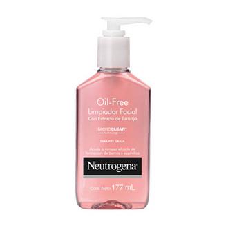Neutrogena - Oil Free Limpiador Facial con Extracto de Toronja