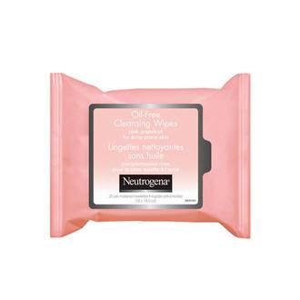 Neutrogena - Oil Free Toallitas Limpiadoras Faciales con Extracto de Toronja