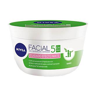 Nivea - Crema Cuidado Facial Efecto Mate 375Ml