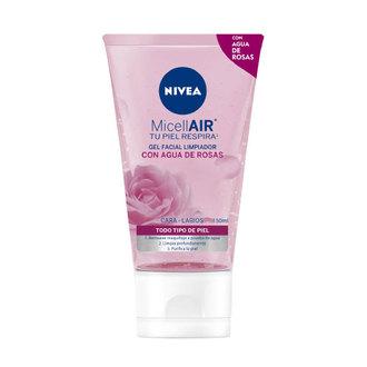 Nivea - Gel Facial Limpiador con Agua de Rosas