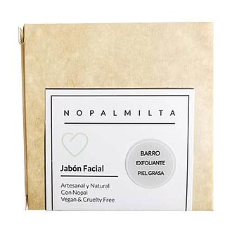 Nopalmilta - Jabón Exfoliante Barro Negro