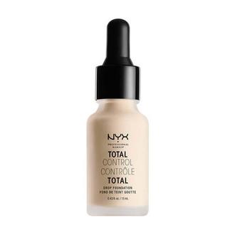 NYX - Base De Maquillaje Líquida Total Control Drop Foundation Pale