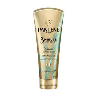 Pantene - Acondicionador 3 Minute Miracle Bambú Nutre & Crece