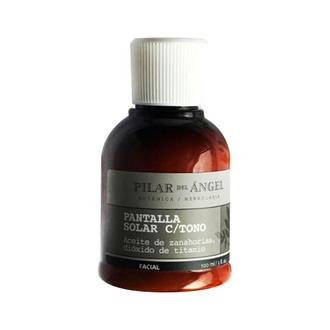 Pilar del Ángel - Pantalla Solar con Aceite de Zanahoria y Dióxido de Titanio