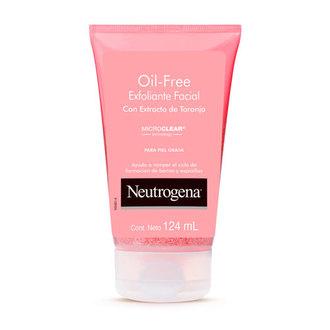 Neutrogena - Oil Free Exfoliante Facial con Extracto de Toronja