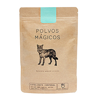 Polvos Mágicos - Exfoliante Café - Coco Orgánico.