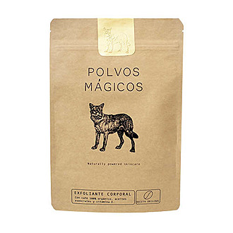 Polvos Mágicos - Exfoliante Corporal Anticelulitis Y Anti Estrías Con Café Y Aceite De Oliva - Receta Original