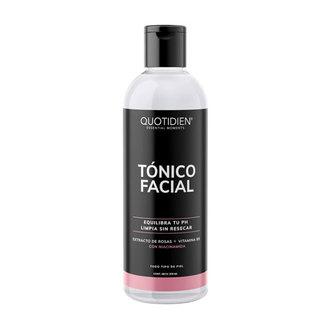 Quotidien - Tónico Facial con Agua de Rosas + Vitamina B5 + Niacinamida