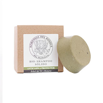 Remedios del Bosque - Bio Shampoo Sólido Árbol de Té & Romero