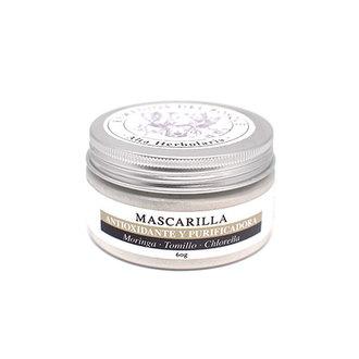 Remedios del Bosque - Mascarilla Antioxidante & Purificadora