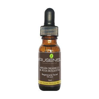 Rusens - Argán Orgánico & Rosa Mosqueta Regenerante Facial 15ml