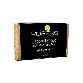 Rusens - Jabón de Olivo con Avena y Miel